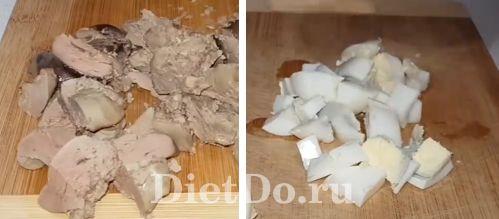 закусочный пирог с капустой и куриной печенью рецепт с фото пошагово