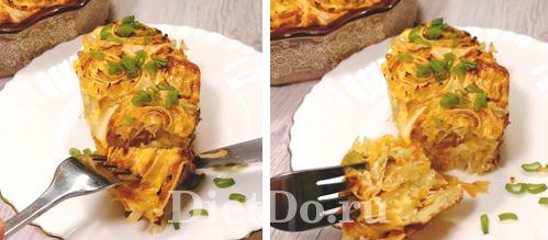 как приготовить заливной капустный пирог из лаваша в духовке