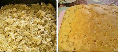 как приготовить пирог с капустой и курицей быстро и вкусно