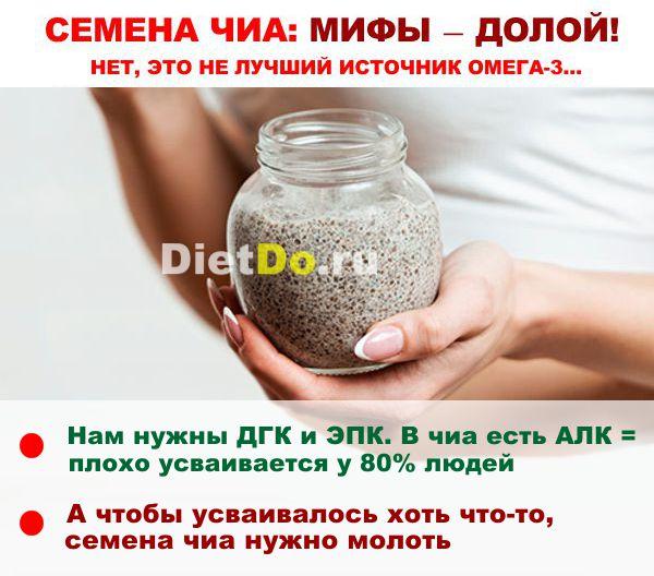как правильно кушать семена чиа