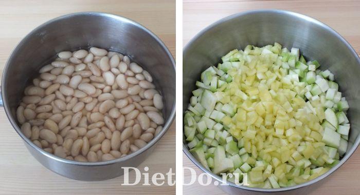 кабачки с фасолью на зиму рецепт без стерилизации