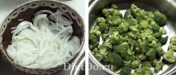 Салат из свежей брокколи пошаговый рецепт с фото