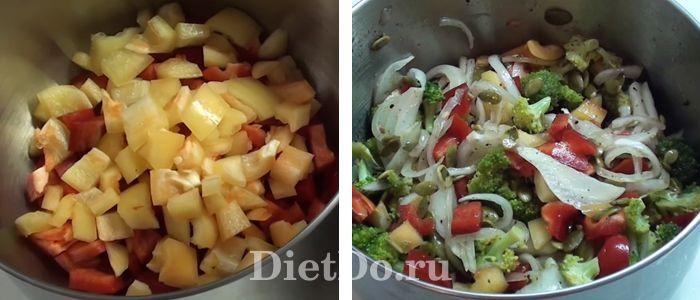 Салат из свежей брокколи рецепт с фото пошагово