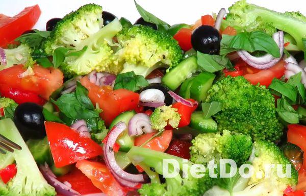 Салат из свежей брокколи самый вкусный рецепт