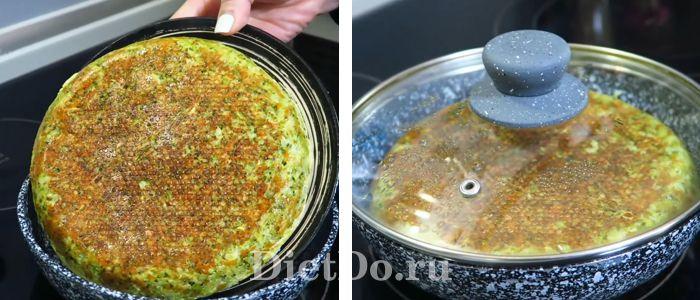 лепешка из брокколи пп рецепт