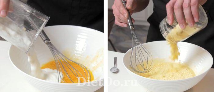 пп блины из кукурузной муки на кефире