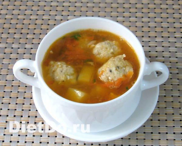 рыбный суп с фрикадельками рецепт