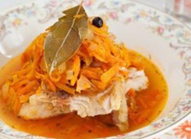 Рыба под маринадом классический рецепт с фото пошагово