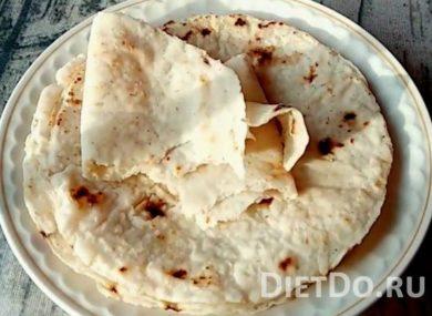Миниатюра к статье Лаваш в домашних условия: 4 рецепта без дрожжей из пшеничной, рисовой и льняной муки (без глютена)