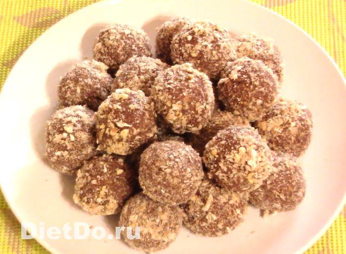 пп конфеты из хлебцев пошаговый рецепт с фото