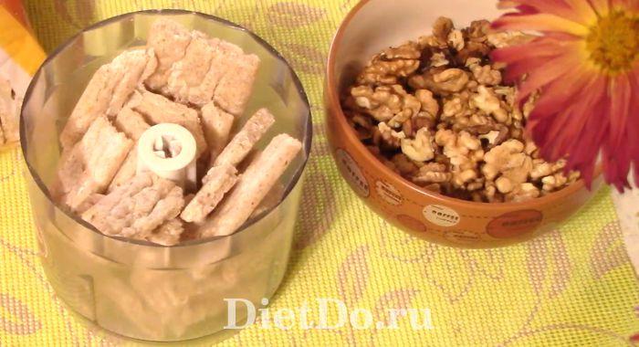 пп конфеты из хлебцев