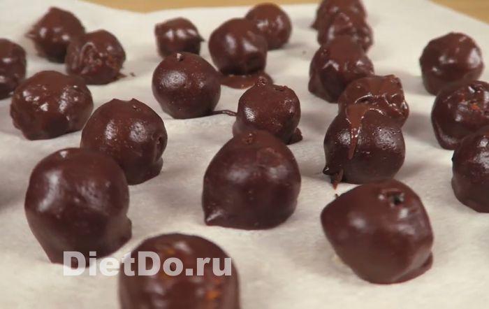 диетические конфеты из сухофруктов