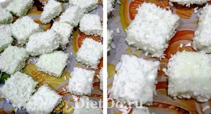 кокосовое маршмеллоу рецепт