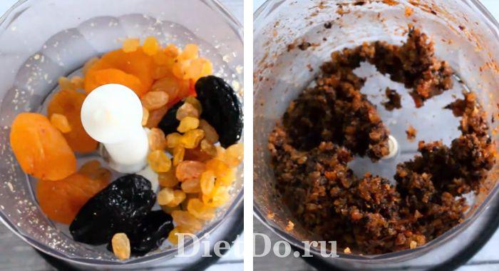 пп конфеты из сухофруктов и орехов в домашних условиях