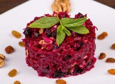 салат с вареной свеклой рецепт с фото самый вкусный