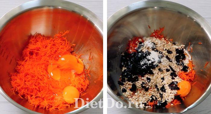 морковный пп торт рецепт с овсянкой