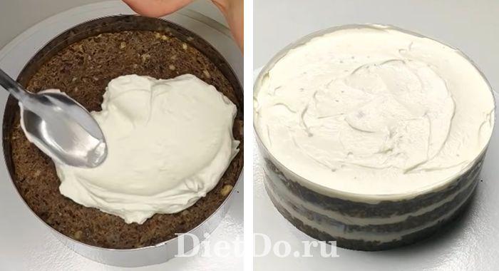 морковный торт пп рецепт с творогом