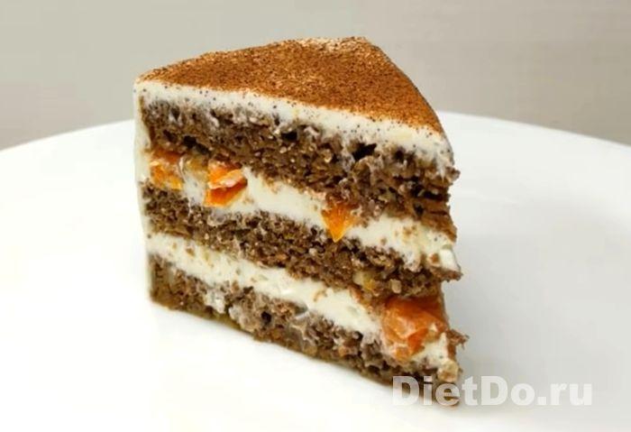морковный торт диетический рецепт