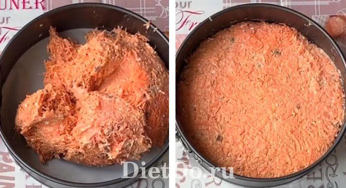 морковный пп торт пошагово с фото