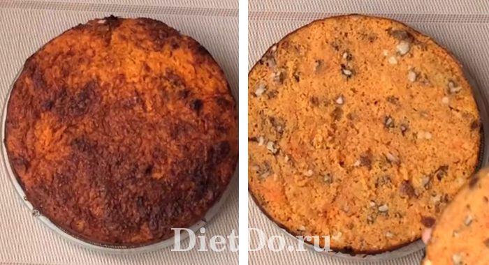 торт морковный рецепт приготовления пп