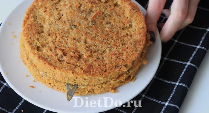 морковный торт пп рецепт самый вкусный