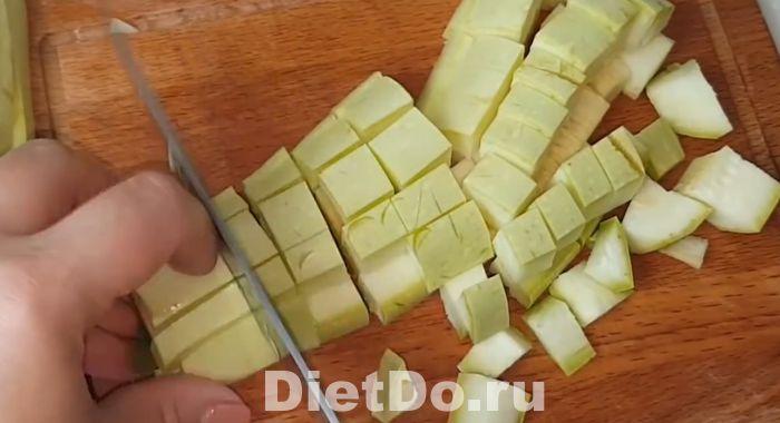 рагу из кабачков и баклажанов и картофеля рецепт с фото пошагово