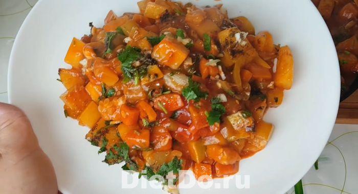рагу из кабачков и баклажанов и картофеля рецепт с фото