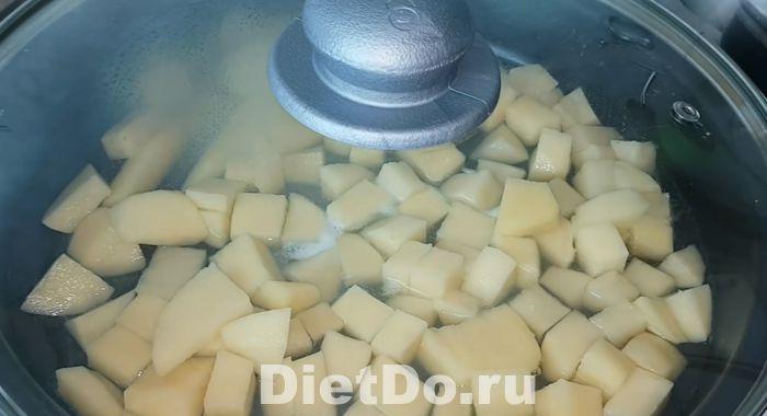 рагу из кабачков и баклажанов и картофеля пошаговый рецепт