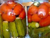 Миниатюра к статье Ассорти из помидоров и огурцов на зиму: ТОП-7 самых вкусных рецептов