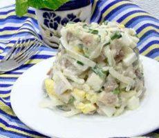 салат с сельдью лучшие рецепты с фото